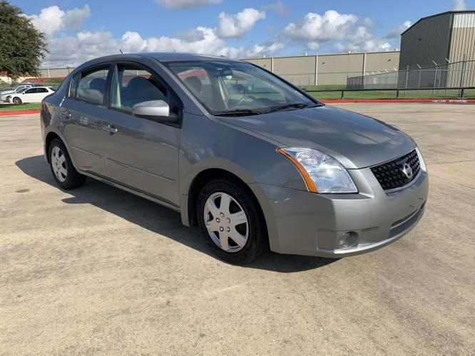 2008 green /gray Nissan Sentra 2.0 (3N1AB61E28L) with an 2.0L L4 DOHC 16V engine, CVT transmission, located at 14700 Tomball Parkway 249, Houston, TX, 77086, (281) 444-2200, 29.928619, -95.504074 - Photo #0