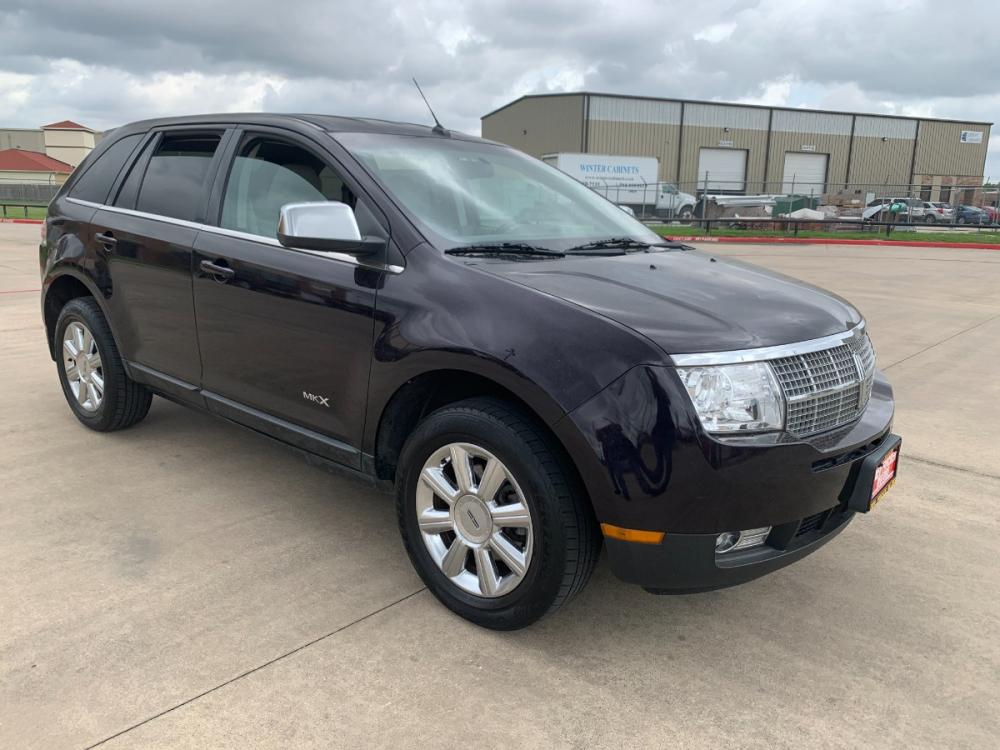 2007 black /tan Lincoln MKX FWD (2LMDU68C87B) with an 3.5L V6 DOHC 24V engine, 6-Speed Automatic Overdrive transmission, located at 14700 Tomball Parkway 249, Houston, TX, 77086, (281) 444-2200, 29.928619, -95.504074 - Photo #0